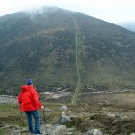catherine-walking-in-the-mournes