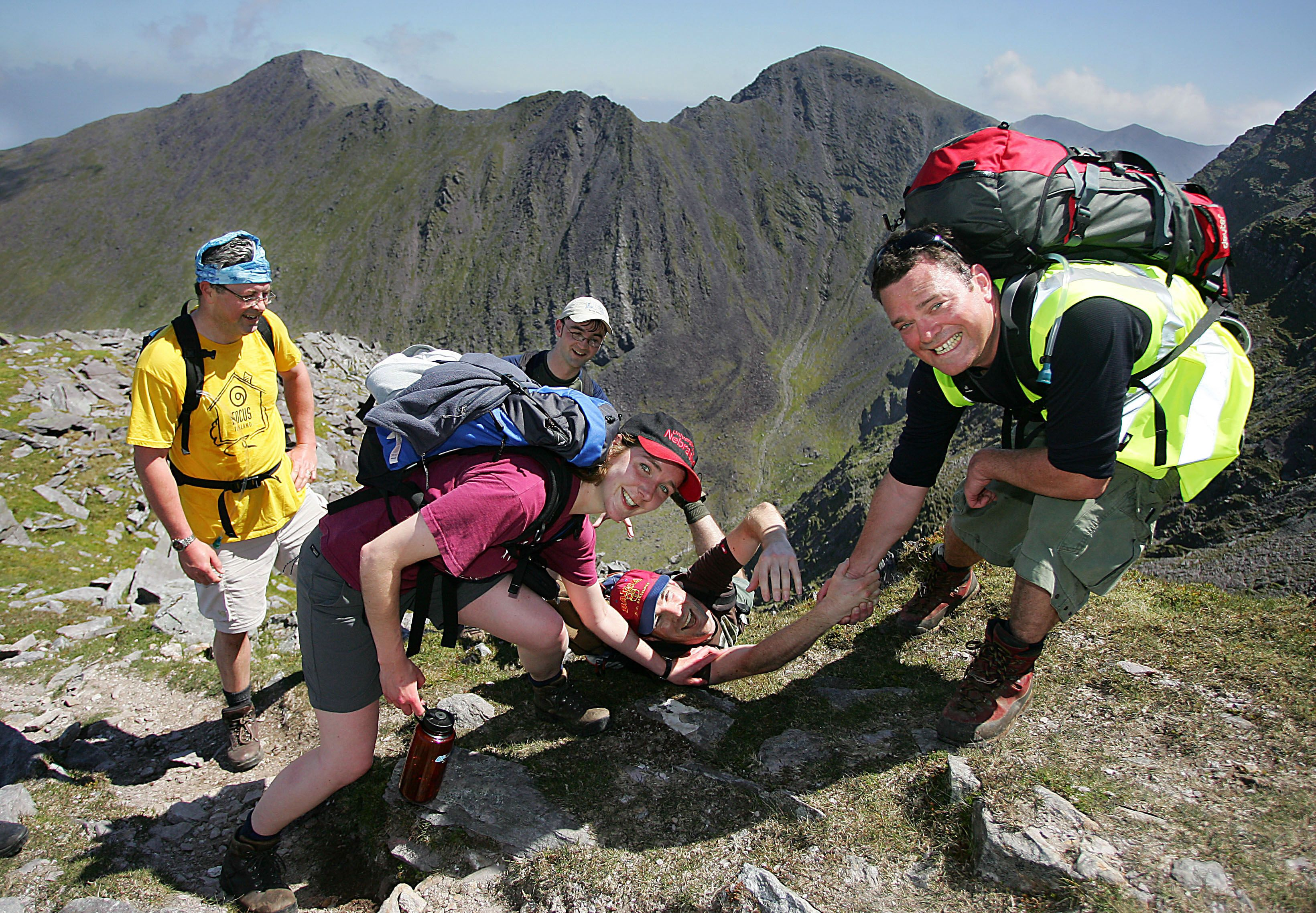 Four Peaks Challenge, Ireland. Photo: Focus Ireland