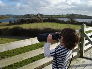 Overlooking Lough Oughter. Photo: Catherine Mack