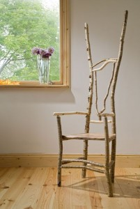 Alison Ospina's green wood chairs