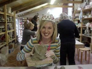 Kinsale Pottery Centre: Hen pottery party