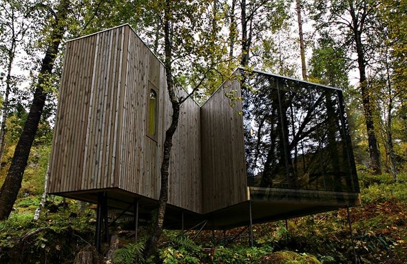 Geirangerfjord accommodation and treehouse