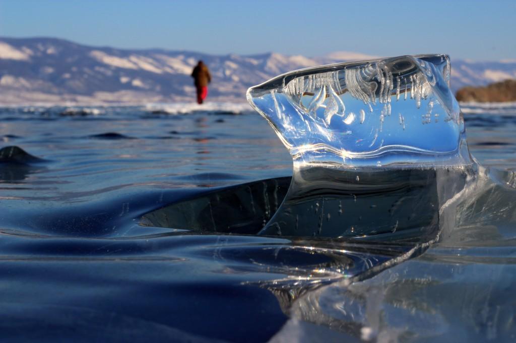 Ice trekking on Lake Baikal Siberia 3 Photo Baikal Nature