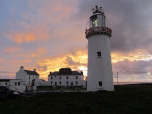 Loop Head Lighthouse at sunset Photo: Catherine Mack