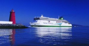 Irish Ferries' Ulysses coming into Dublin Port Photo: Irish Ferries