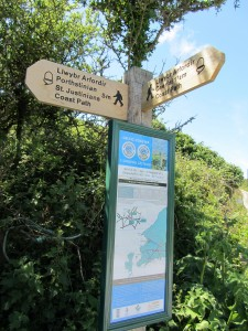 Hiking it and bus-ing it along Pembrokeshire Coast path