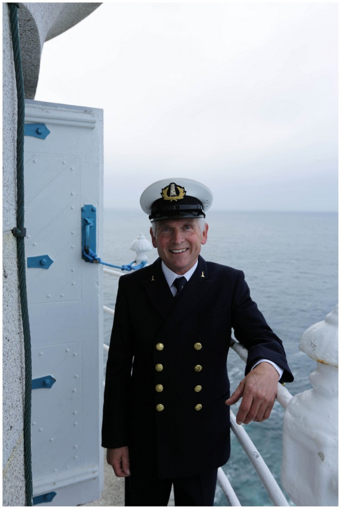 Gerald Butler, former lightkeeper and now caretaker at Galley Head Lighthouse