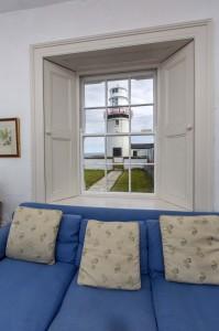 View from the sitting room at Galley Head Photo: Irish Landmark Trust