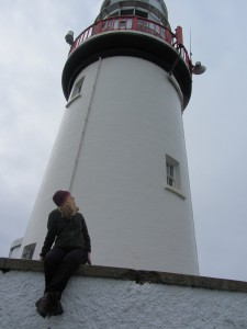Catherine at Galley Head Lighthouse