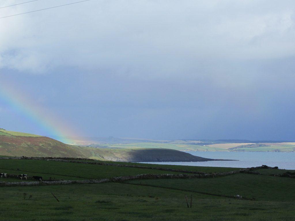 It doesn't always rain on a walking holiday in Ireland