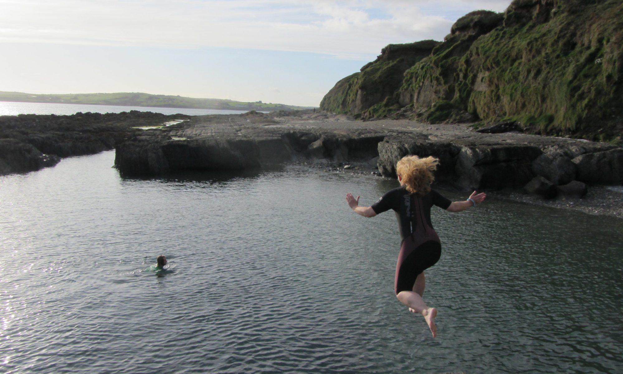 Wild swimming in Ireland West Cork