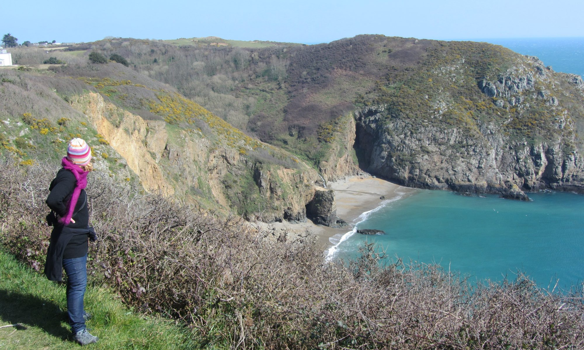 Sark, one of the car-free Channel Islands