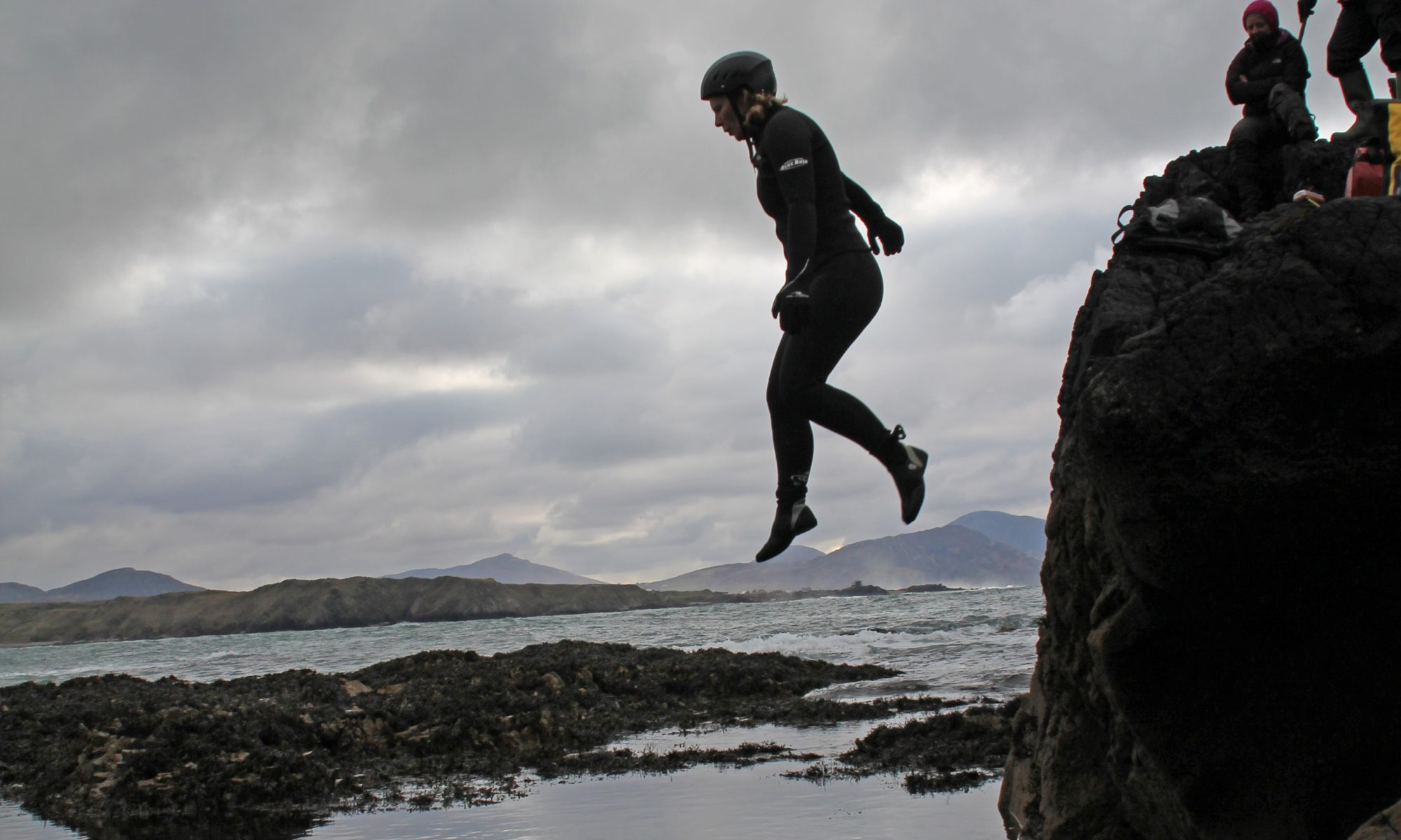 Coasteering in Donegal