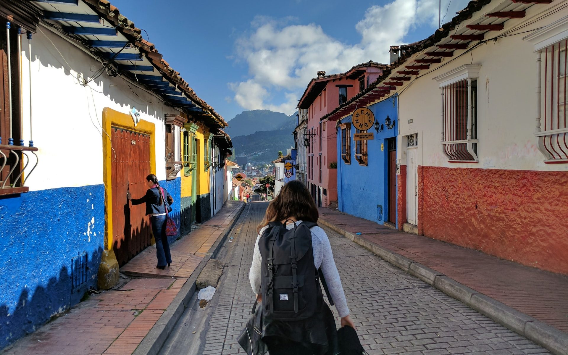 Travelling alone in Colombia