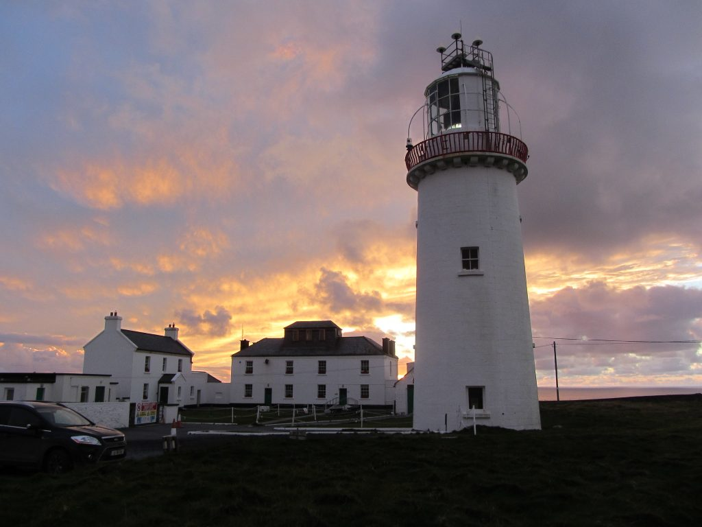 Loop Head Lighthouse, County Clare, one of Ireland's finest lighthouses on the Wild Atlantic Way