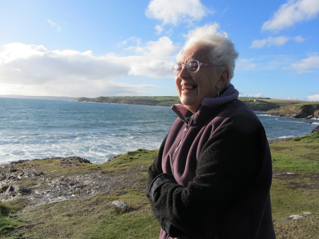 Joy Larkcom, one of the most revered gardening writers and delightful interviewee with Catherine Mack, ethical travel writer