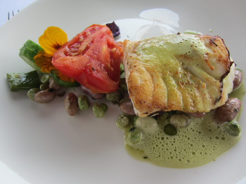 Organic and locally sourced food at Restaurant De Kas, Amsterdam