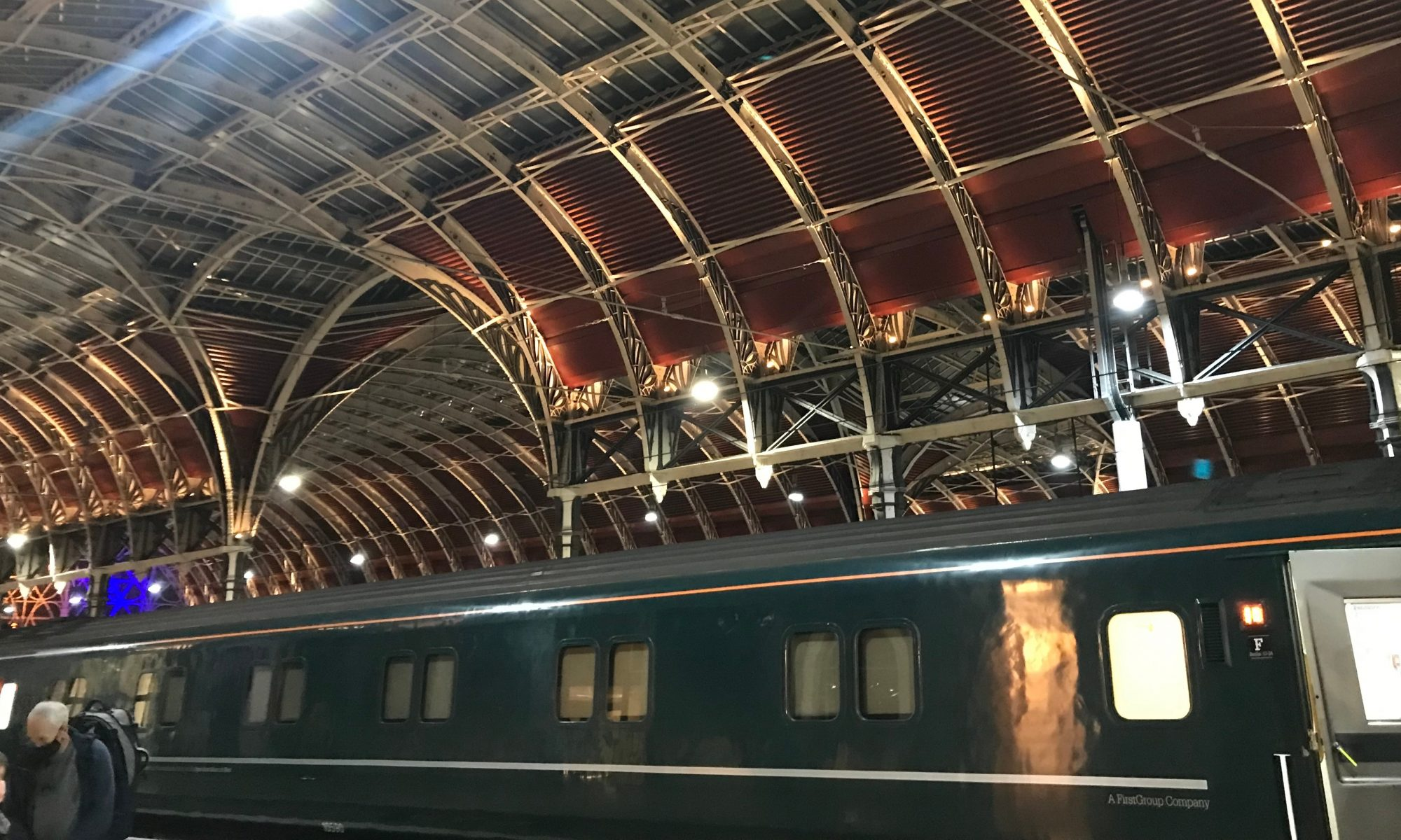 Sleeper train from London to Cornwall